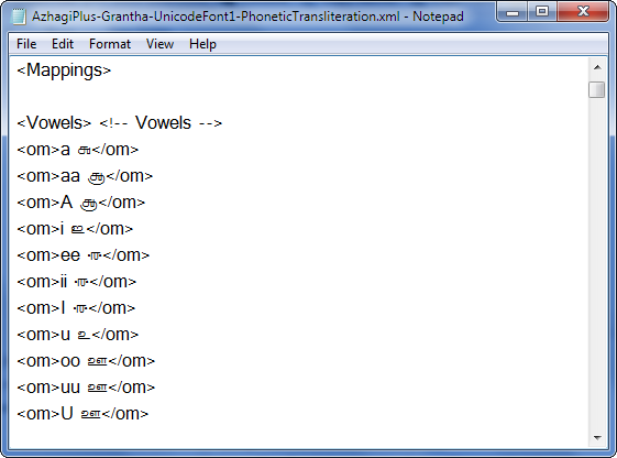 The XML files of Azhagi+ (AzhagiPlus) - Their immense Power
